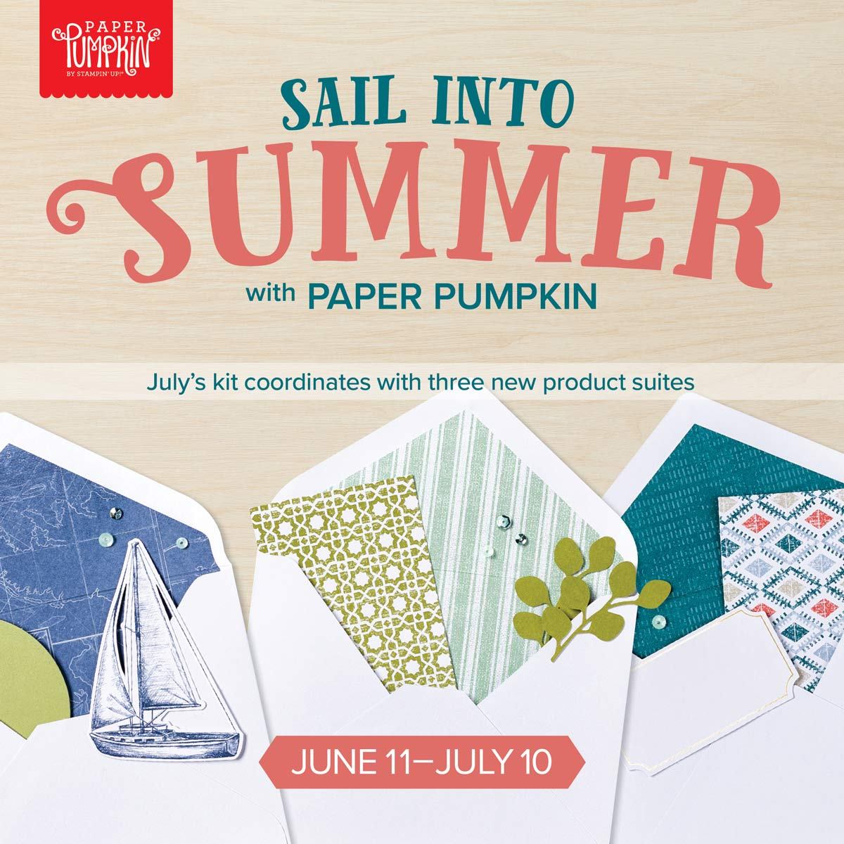July 2019 Paper Pumpkin Sneak Peek
