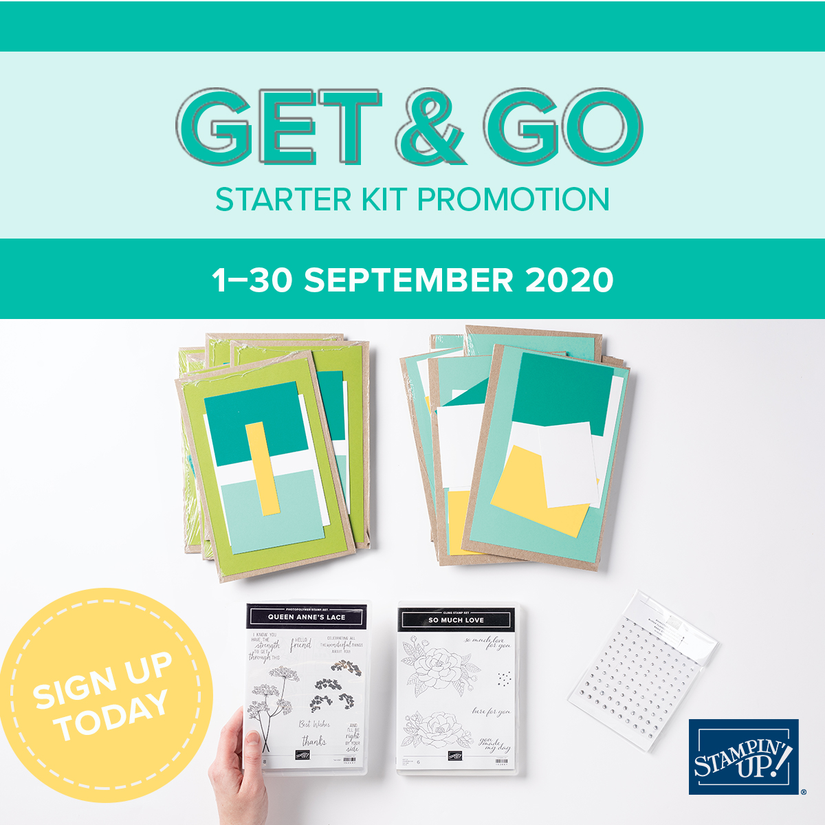 Get & Go Starter Kit Promotion September 1-30 2020