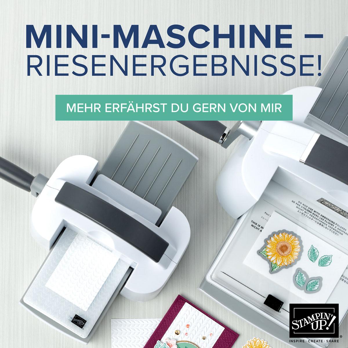 Stampin Up Mini-Stanz- und Prägemaschine
