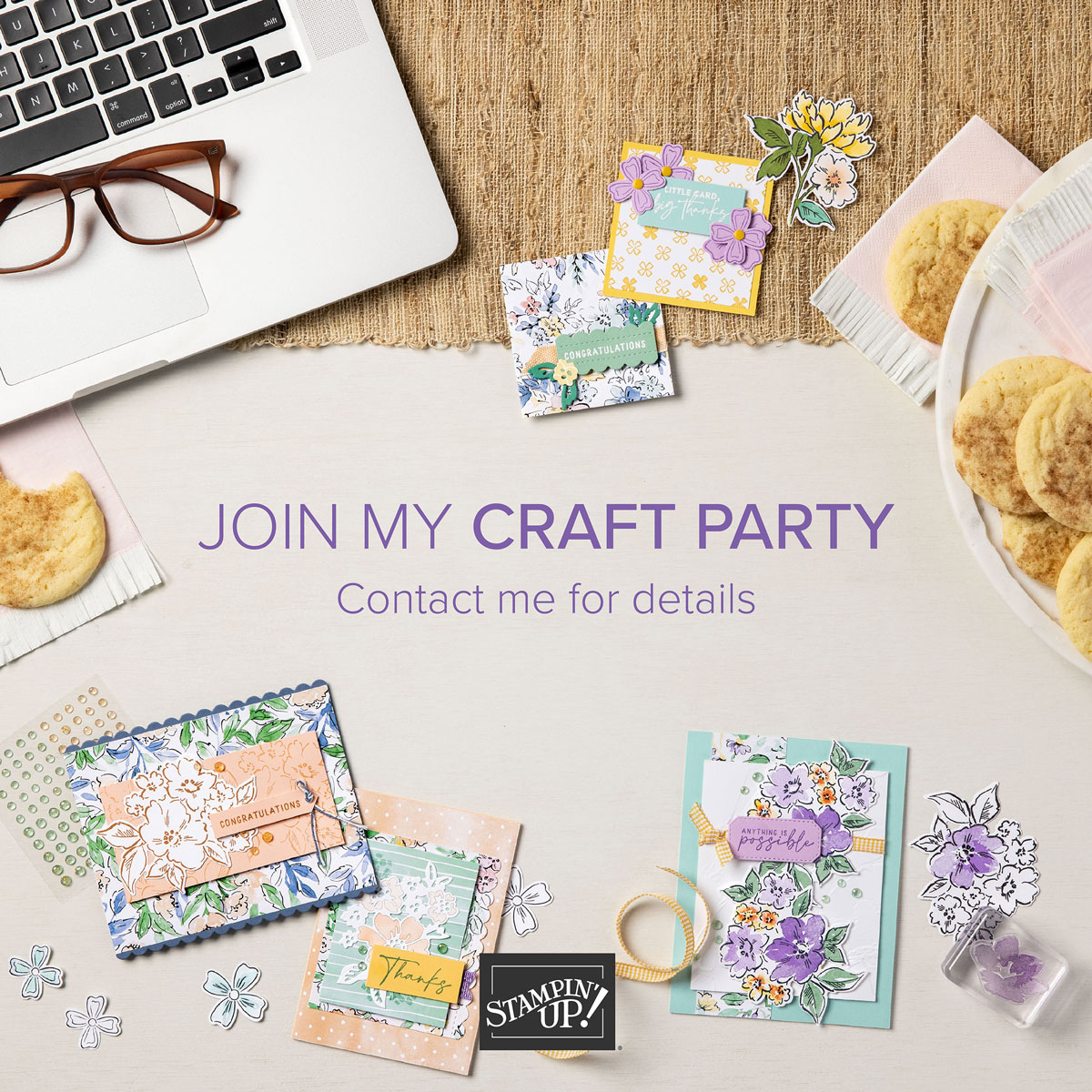 Join My Craft Party - Earn Reward