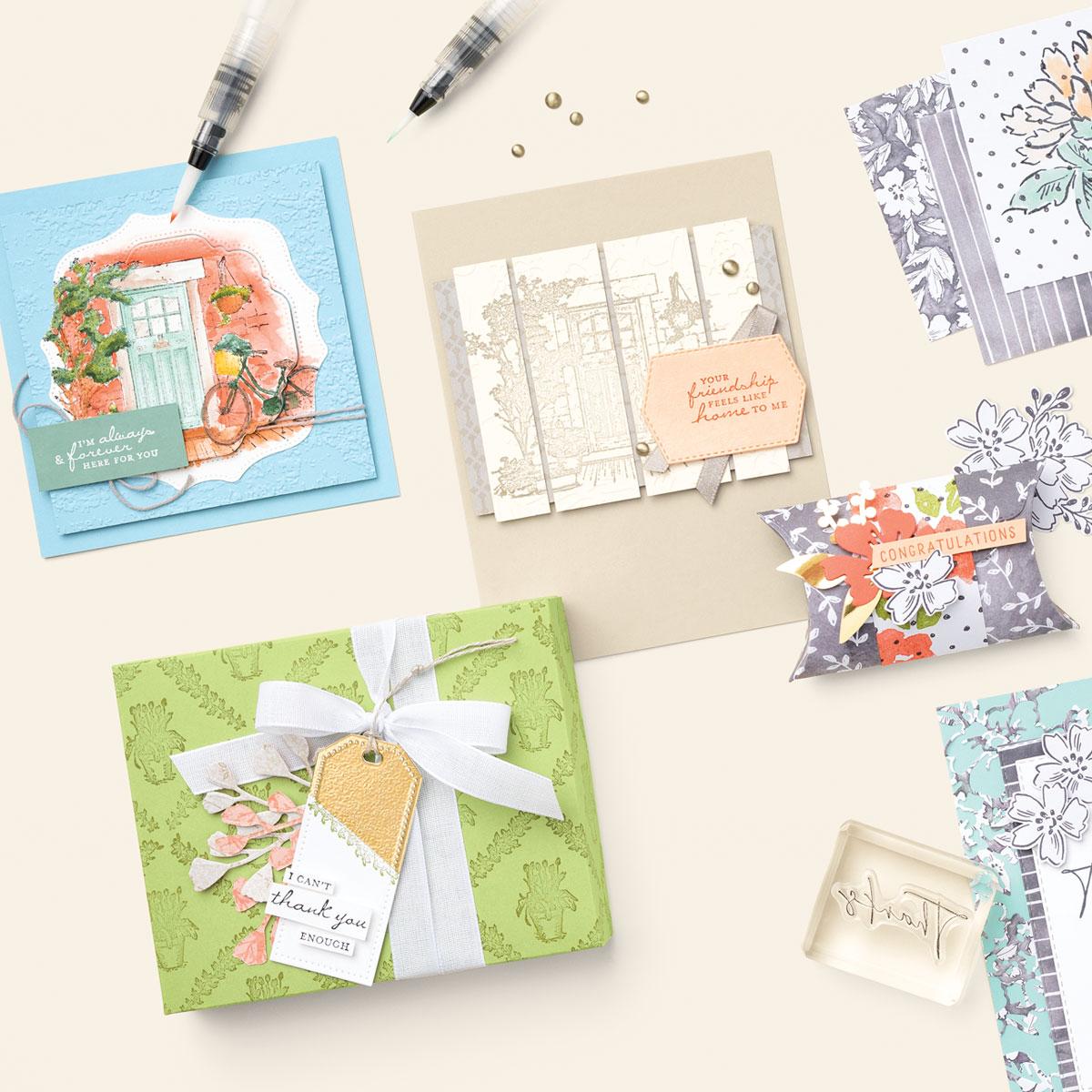 Sale-a-Bration | Feels Like Home Stamp Set