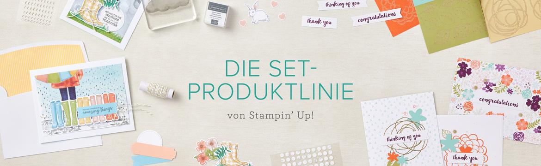 Set-Produktlinie  - Komplettsets für das einfache Bastelvergnügen