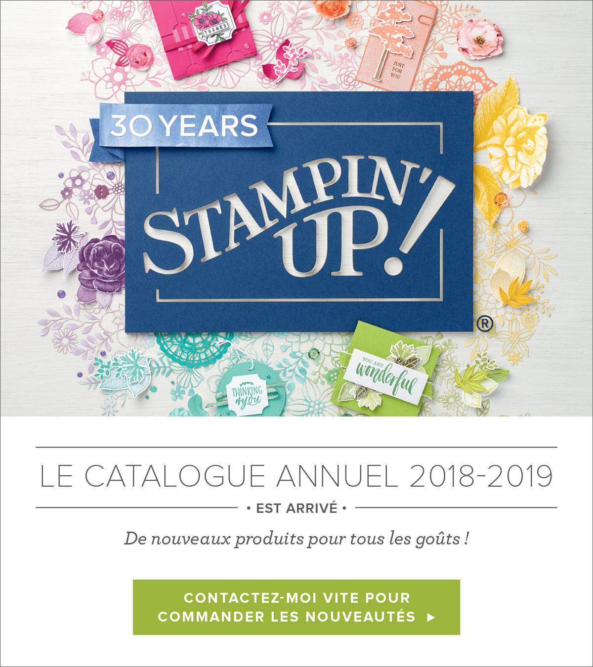 Catalogue Stampin'Up 2018 / 2019