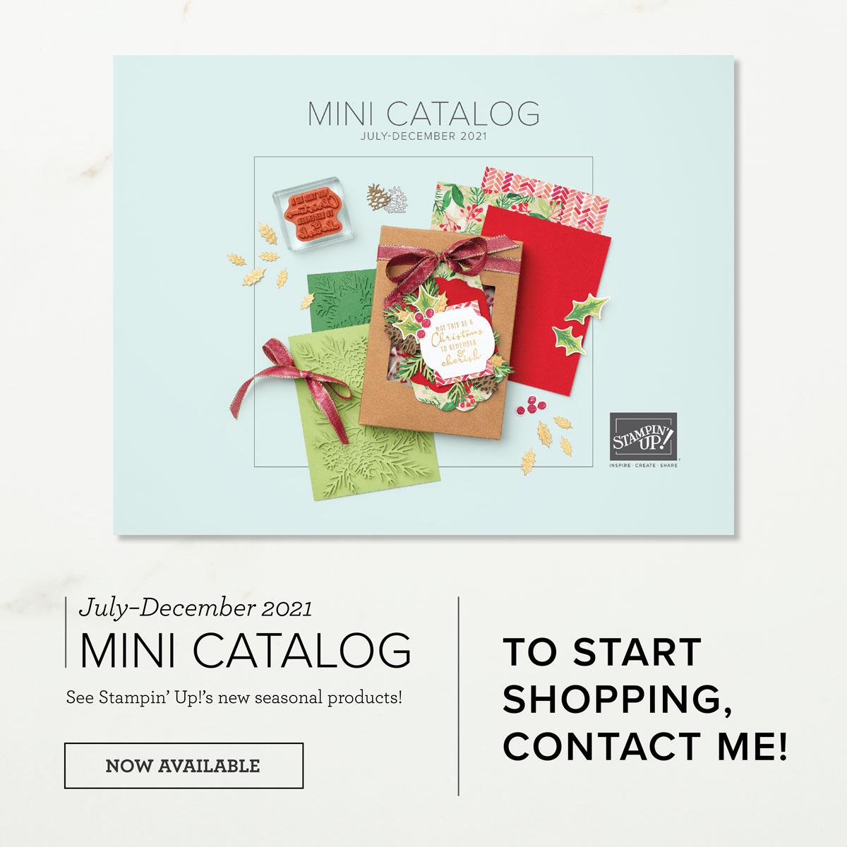 July - Dec 2021 Mini-catalog