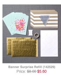 Banner Surprise Refill
