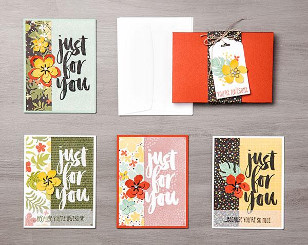 Botanicals for You and Botanical Gardens Designer Vellum Stack
