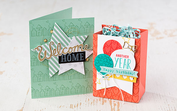 Welcome Words Stamp Set