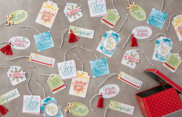 Tin of Tags Project Kit: The Perfect Gift