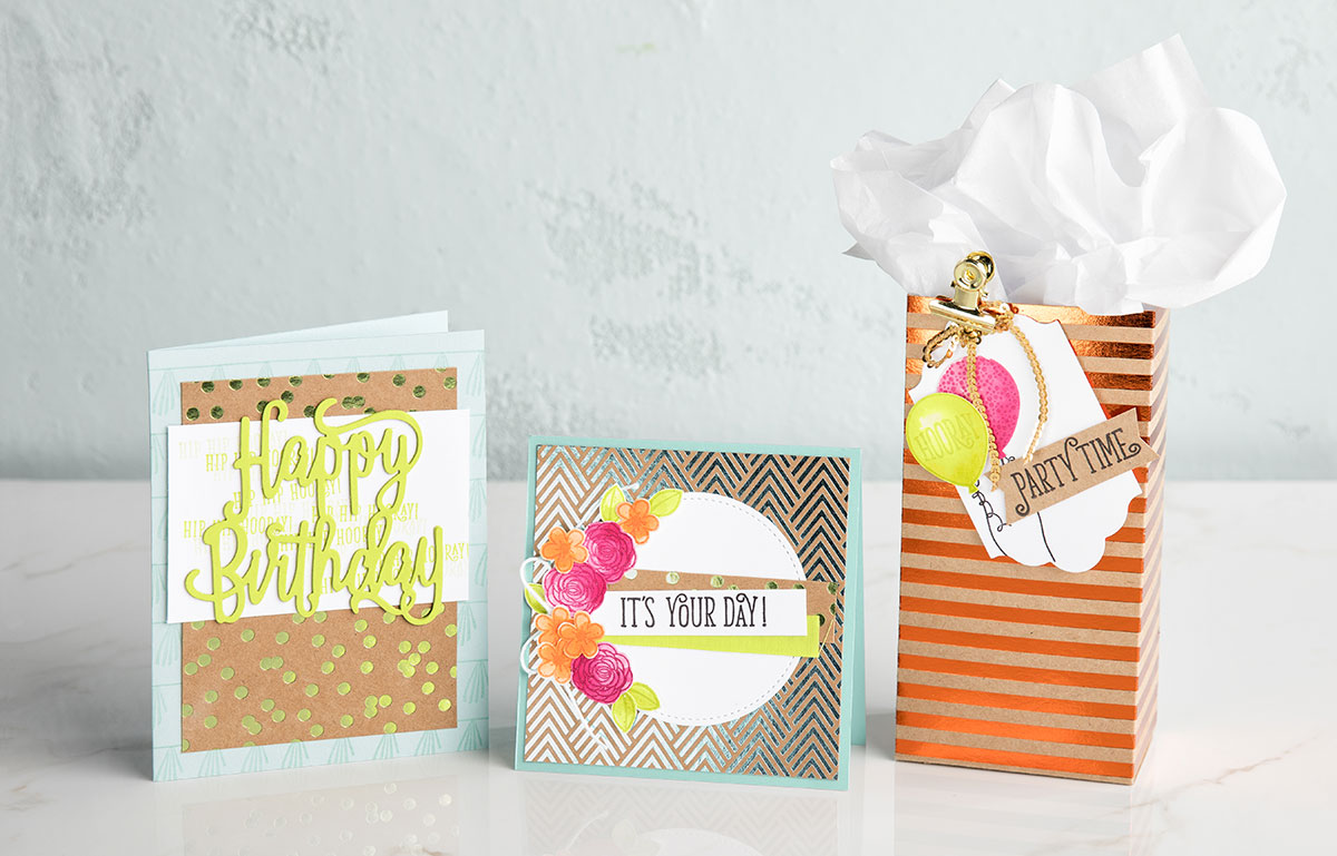 Create a Foil Frenzy on Your Projects!