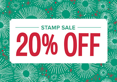 Stamp Sale - 20% Off!