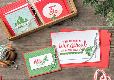 Santa's Workshop Cards