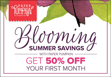 Save 50% on Paper Pumpkin