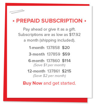 Prepaid Subscription